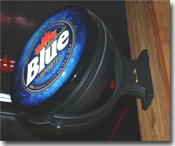 Labatt Blue Tap Featured at The Broadcast Booth